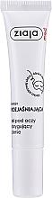 Perfumería y cosmética Gel para contorno de ojos con oligopéptidos - Ziaja Med Eye Gel For Eyes Around Dark Circles