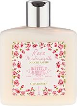 Perfumería y cosmética Gel de ducha con manteca de karité y aroma a rosa - Institut Karite Shea Shower Rose Mademoiselle