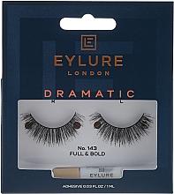 Perfumería y cosmética Pestañas postizas con pegamento incluido - Eylure Pre-Glued Exagerrate №143