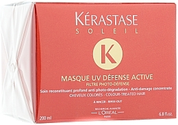 Mascarilla capilar fotoprotectora - Kerastase Masque UV Defense Active — imagen N1