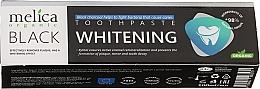 Perfumería y cosmética Pasta dental orgánica con xilitol y carbón activo - Melica Organic Toothpaste Whitening Black