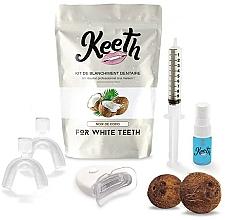 Perfumería y cosmética Kit de blanqueamiento dental con sabor a coco - Keeth Coconut Teeth Whitening Kit