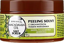 Perfumería y cosmética Exfoliante corporal salado con aceite de macadamia - GlySkinCare Macadamia Oil Salt Scrub