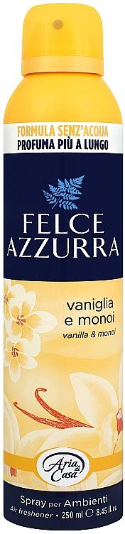 Ambientador en spray con aroma a azahar y vainilla - Felce Azzurra Vaniglia e Monoi Spray