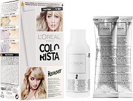 Perfumería y cosmética Kit borrador de tonos verdes y azules para cabellos rubios - L'Oreal Paris Colorista Remover