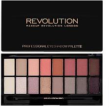 Perfumería y cosmética Paleta de sombras de ojos, 16 colores - Makeup Revolution Profesional Eyeshadow Palette