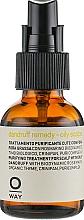 Perfumería y cosmética Sérum de tratamiento anticaspa con aceite de romero - Oway Purifying Dandruff Remedy Oily Scalps