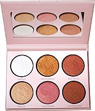 Perfumería y cosmética Paleta de iluminadores faciales - LP Makeup L'Essentiel Paper Highlight Palette