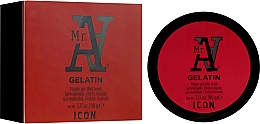 Perfumería y cosmética Gel moldeador para cabello, efecto mojado - I.C.O.N. MR. A. Gelatin Pliable Gel Wet Finish