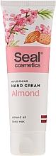 Perfumería y cosmética Crema de manos con aceite de almendras dulces - Seal Cosmetics Almond Hand Cream