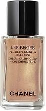 Perfumería y cosmética Iluminador facial líquido - Chanel Les Beiges Sheer Healthy Glow Highlighting Fluid