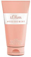 Perfumería y cosmética S.Oliver #Your Moment Women - Gel de baño y de ducha