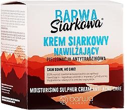 Perfumería y cosmética Crema facial de azufre - Barwa Sulphuric Cream Prolonged Moisturising