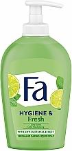 Perfumería y cosmética Jabón líquido antibacteriano con aroma a lima - Fa Hygiene & Fresh Liquid Soap