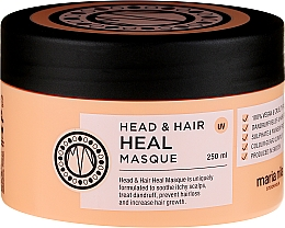 Perfumería y cosmética Mascarilla capilar anticaspa con glicerina y ácido láctico - Maria Nila Head & Hair Heal Masque