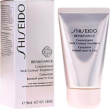 Perfumería y cosmética Crema antienvejecimiento para cuello y escote con extracto de raiz de ginseng - Shiseido Benefiance Concentrated Neck Contour Treatment