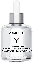 Perfumería y cosmética Crema facial líquida rejuvenecedora con CBD - Yonelle Medifusion CBD Forte Liquid-Cream