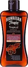 Perfumería y cosmética Aceite activador de bronceado - Hawaiian Tropic Coconut Tropical Tanning Oil