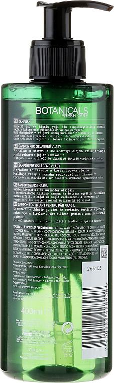 Champú con jengibre & cilantro - L'oreal Paris Botanicals Fuente de Fuerza Cabellos Fragiles — imagen N2