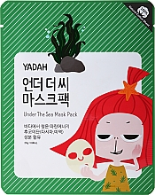 Perfumería y cosmética Mascarilla facial de tejido reafirmante con extracto de algas marinas - Yadah Under The Sea Mask Pack