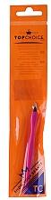 Perfumería y cosmética Cortacutículas con mango de plástico 7248, rosa - Top Choice