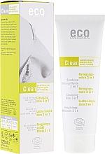 Perfumería y cosmética Leche limpiadora facial con extracto de té verde y myrto 3 en 1 - Eco Cosmetics