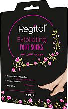 Perfumería y cosmética Mascarilla calcetines exfoliantes con extractos de pepino y aloe vera - Regital Exfoliating Foot Socks