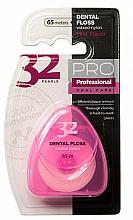 Perfumería y cosmética Hilo dental, rosa, 65m - Modum 32 Perlas Dental Floss