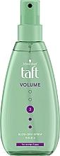 Perfumería y cosmética Spray voluminizador de cabello, fijación fuerte - Schwarzkopf Taft Volumen Föhn-Spray