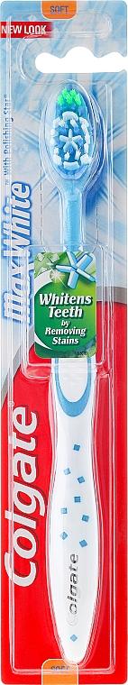 Cepillo dental de dureza suave - Colgate Max White Soft With Polishing Star — imagen N1
