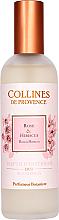 Perfumería y cosmética Ambientador en spray con aroma a rosa e hibisco - Collines de Provence Rose & Hibiscus