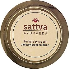 Perfumería y cosmética Crema facial con aceites de coco y sésamo - Sattva Ayurveda Herbal Day Cream