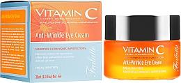 Perfumería y cosmética Contorno de ojos con vitamina C, mañana y tarde - Frulatte Vitamin C Anti-Wrinkle Eye Cream