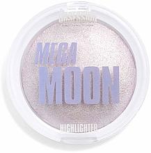Perfumería y cosmética Iluminador facial compacto vegano cocido - Makeup Obsession Mega Moon Highlighter