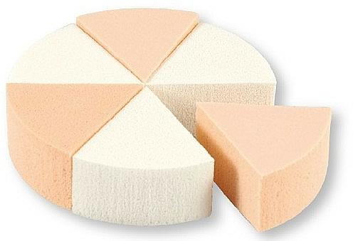 Esponja de maquillaje, 35821, 6 uds. - Top Choice Foundation Sponges