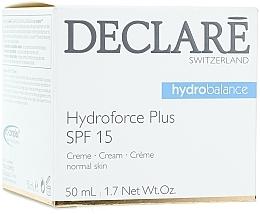 Crema de día antimanchas con protección SPF15 - Declare Hydroforce Plus SPF 15 Cream — imagen N1