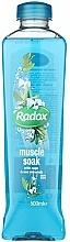 Perfumería y cosmética Espuma de baño con aroma a salvia y minerales marinos - Radox Muscle Soak Bath Soak