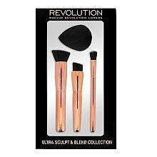 Perfumería y cosmética Set brochas y esponja de maquillaje - Makeup Revolution Ultra Sculpt & Blend Sponge Brush Collection