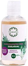 Perfumería y cosmética Tónico de limpieza facial con extracto de salvia - Yamuna Alcohol-Free Toner With Sage ingredients