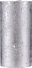 Perfumería y cosmética Vela natural decorativa, 15cm - Ringa Silver Glow Candle