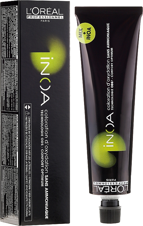 Tinte para cabello de larga duración sin amoníaco - L'Oreal Professionnel Inoa ODS2 (sin oxidante incluido)