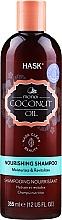 Perfumería y cosmética Champú nutritivo con aceite de coco - Hask Coconut Oil Shampoo