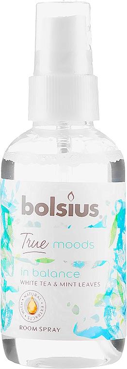 Ambientador en spray té blanco y menta - Bolsius Room Spray True Moods In Balance
