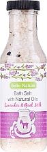 Perfumería y cosmética Sales de baño con aroma a lavanda & leche de cabra - Belle Nature Bath Salt