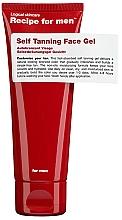 Perfumería y cosmética Gel facial autobronceador - Recipe For Men Self Tanning Face Gel