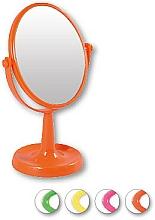 Perfumería y cosmética Espejo cosmético 85741 lusterko stoj№ce owalne, naranja - Top Choice