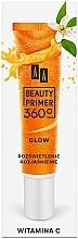 Perfumería y cosmética Prebase de maquillaje con vitamina C - AA Beauty Primer 360 Glow Make-Up Base Vitamin C