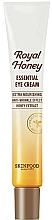 Perfumería y cosmética Crema contorno de ojos con extracto de miel - Skinfood Royal Honey Essential Eye Cream