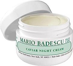 Perfumería y cosmética Crema de noche con extracto de caviar - Mario Badescu Caviar Night Cream