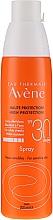 Perfumería y cosmética Spray protector solar hidratante con Agua Termal de Avéne - Avene Solaires Haute Protection Spray SPF 30